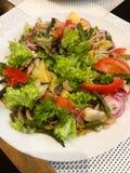 Bijgerecht, salade royalty-vrije stock foto