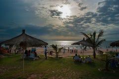 Bijilo海滩 库存照片