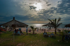 Bijilo plaża Zdjęcia Stock
