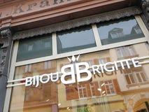Bijou Brigitte-toebehorenwinkel royalty-vrije stock afbeelding