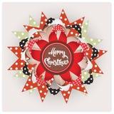 Bijou de Joyeux Noël Photos stock