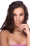 Bijou de perle Images stock