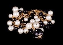 Bijou de perle Photo libre de droits