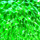 Bijou/Emerald Geometric Abstract verts Photographie stock