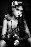 Bijou girl Royalty Free Stock Photos
