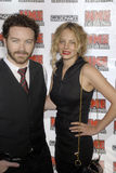 Bijou Phillips / Danny Masterson on the carpet. Bijou Phillips and Danny Masterson appearing at the NME Awards April 2008 Stock Photography