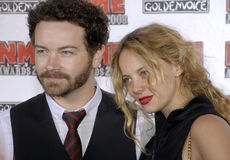 Bijou Phillips / Danny Masterson on the carpet. Stock Photos