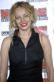 Bijou Phillips on the red carpet. Bijou Phillips appearing at the NME Awards April 2008 Stock Photography