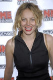 Bijou Phillips on the red carpet. Bijou Phillips appearing at the NME Awards April 2008 Stock Photos