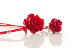 Bijou rose de rouge Photographie stock libre de droits
