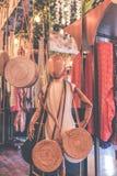 Bijouterie женщин в магазине Остров Бали стоковые изображения rf
