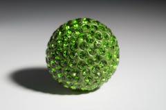 Bijouterie Emerald. Bijouterie pendant ornament ball Emerald Royalty Free Stock Photography