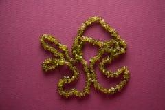 Bijouterie kolia zieleni koraliki Fotografia Stock