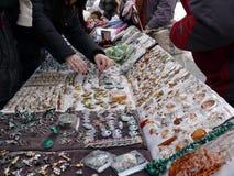 Bijouterie Market In Sergiev Posad Stock Photo