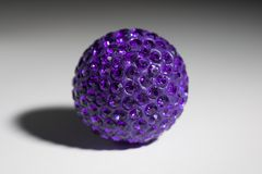 Bijouterie Purple. Bijouterie pendant ornament ball purple Royalty Free Stock Images