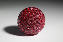 Bijouterie Red. Bijouterie pendant ornament ball red Stock Photos