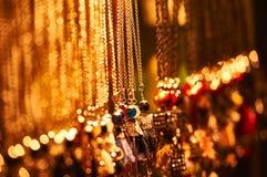 Bijoux à pré-Noël juste à Wroclaw image stock