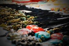 Bijoux à un marché de nuit, Chiang Mai photographie stock libre de droits