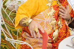Bijoux africains traditionnels photographie stock libre de droits