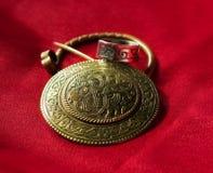 Bijoux avec des conceptions slaves antiques Photographie stock