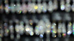 Bijoux brillants lumineux banque de vidéos