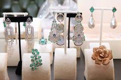 Bijoux chers chics de diamant Image libre de droits