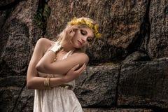 Bijoux de fille et d'antiquité photographie stock libre de droits