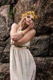 Bijoux de fille et d'antiquité photo libre de droits