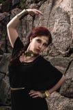 Bijoux de fille et d'antiquité photo stock
