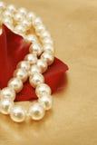 Bijoux de perle Images libres de droits