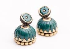 Bijoux de terre cuite Images stock