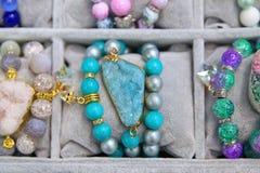Bijoux des pierres naturelles Image libre de droits