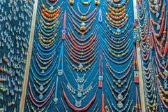 Bijoux et boutique de souvenirs au Maroc Photographie stock libre de droits