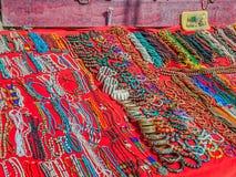 Bijoux faits main dans l'Inde Photos libres de droits