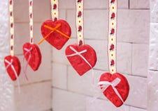 Bijoux faits main le jour du ` s de Valentine photo stock
