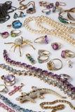 Bijoux - pierres gemmes - gemmes Photo libre de droits