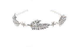 Bijoux principaux sur le fond d'isolement par blanc Image stock