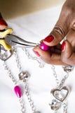 Bijoux faisant comme passe-temps #3 Image stock