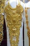 Bijoux traditionnels indiens pakistanais Arabes d'or Image libre de droits