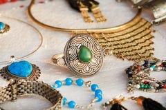 Bijoux tribals Photographie stock libre de droits