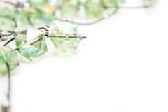 Bijoux verts Photos stock