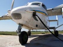 Bijtankend vliegtuig Stock Afbeeldingen