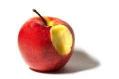 Bijtende appel Stock Foto's