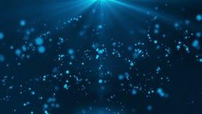 Bijzonder licht HD 1080 blauw als achtergrond vector illustratie