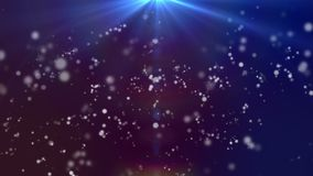 Bijzonder licht HD 1080 blu-rood als achtergrond vector illustratie