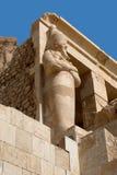 Bijzonder van tempel van Hatshepsut, Egypte Stock Foto's