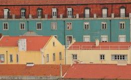 Bijzondere kleurenburger, Portugal Royalty-vrije Stock Foto