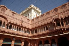 Bikaner fort Stock Image