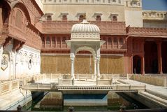 Bikaner fort Royalty Free Stock Photos