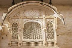 Bikaner palace  Royalty Free Stock Images